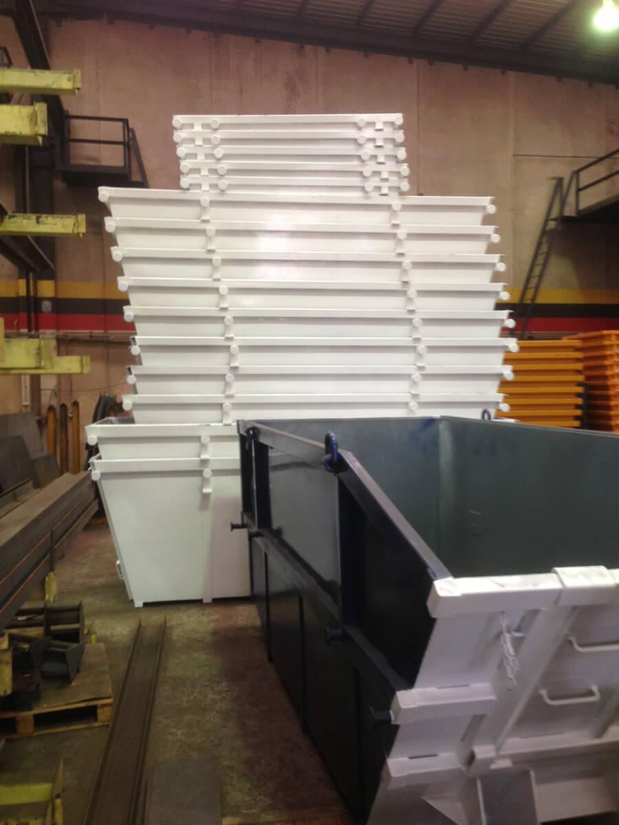 Gallery Buy Brand New or Refurbished Steel Waste & Skip Bins